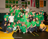2816 VHS Wrestling at Sub-Regionals Awards 020213