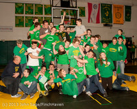 2820 VHS Wrestling at Sub-Regionals Awards 020213