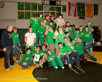 2826 VHS Wrestling at Sub-Regionals Awards 020213