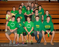 2836 VHS Wrestling at Sub-Regionals Awards 020213