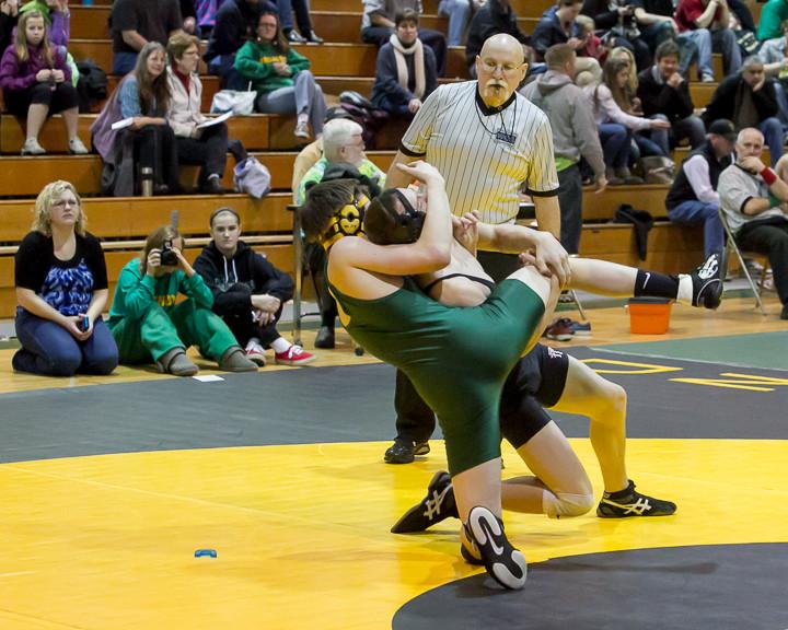2937 VHS Wrestling at Sub-Regionals 020213