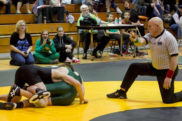 2953 VHS Wrestling at Sub-Regionals 020213