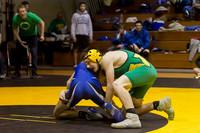 3758 VHS Wrestling at Sub-Regionals 020213