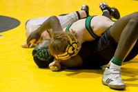 3852 VHS Wrestling at Sub-Regionals 020213
