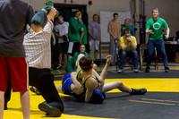 3869 VHS Wrestling at Sub-Regionals 020213