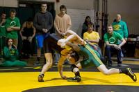 3916 VHS Wrestling at Sub-Regionals 020213