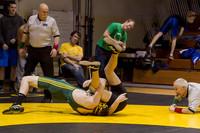 3928 VHS Wrestling at Sub-Regionals 020213
