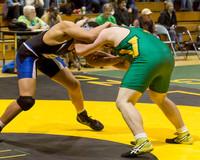 4574 VHS Wrestling at Sub-Regionals 020213