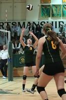 20100 Varsity Volleyball v Chas-Wright 091310