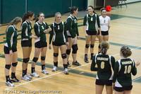 7634 Varsity Volleyball v Chimacum 091911