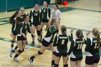 7644 Varsity Volleyball v Chimacum 091911
