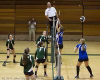 7764 Varsity Volleyball v Chimacum 091911