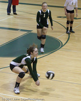 7870 Varsity Volleyball v Chimacum 091911