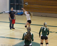 7918 Varsity Volleyball v Chimacum 091911