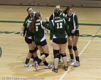 7977 Varsity Volleyball v Chimacum 091911