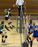 8032 Varsity Volleyball v Chimacum 091911