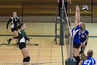 8054 Varsity Volleyball v Chimacum 091911