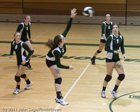 8188 Varsity Volleyball v Chimacum 091911
