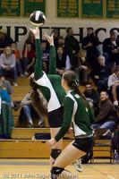 4393 Vashon v Lynden-Chr Volleyball Tri-Dist 110311