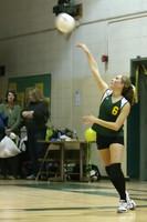 6051 JV Volleyball v Orting 102109