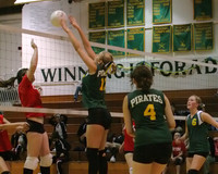 6085 JV Volleyball v Orting 102109