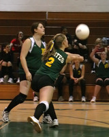 6110 JV Volleyball v Orting 102109