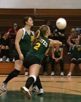 6110 JV Volleyball v Orting 102109