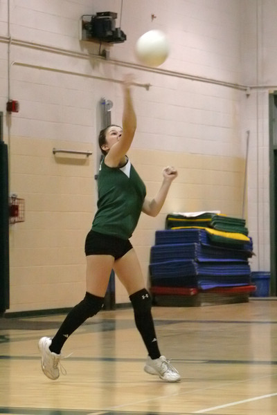 6148 JV Volleyball v Orting 102109