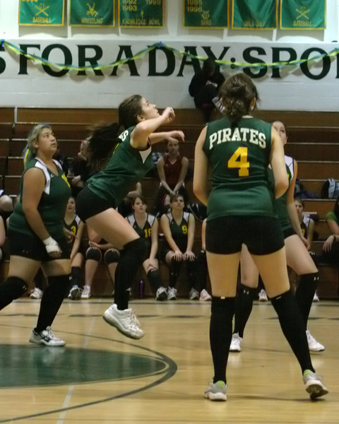 6154 JV Volleyball v Orting 102109