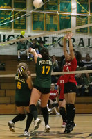 6155 JV Volleyball v Orting 102109
