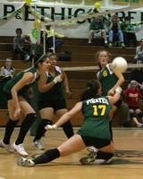 6161 JV Volleyball v Orting 102109