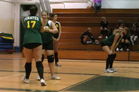 6259 JV Volleyball v Orting 102109