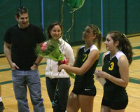 6304 Volleyball Seniors Night 102109