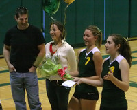 6306 Volleyball Seniors Night 102109