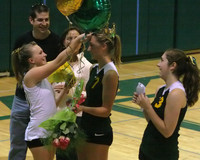 6313 Volleyball Seniors Night 102109
