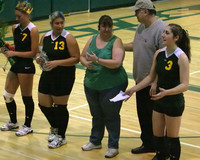 6327 Volleyball Seniors Night 102109