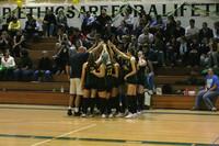 6350 Varsity Volleyball v Orting 102109