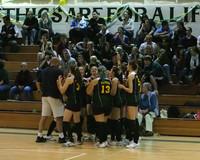 6352 Varsity Volleyball v Orting 102109