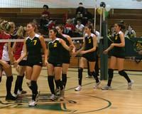 6358 Varsity Volleyball v Orting 102109