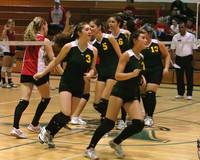 6361 Varsity Volleyball v Orting 102109