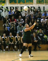 6377 Varsity Volleyball v Orting 102109
