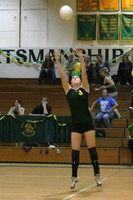 6383 Varsity Volleyball v Orting 102109