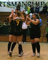 6386 Varsity Volleyball v Orting 102109