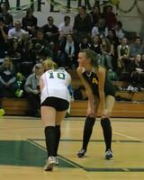 6388 Varsity Volleyball v Orting 102109