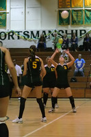 6396 Varsity Volleyball v Orting 102109