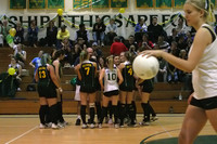 6400 Varsity Volleyball v Orting 102109