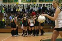 6400 Varsity Volleyball v Orting 102109