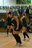 6420 Varsity Volleyball v Orting 102109