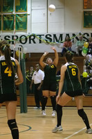6440 Varsity Volleyball v Orting 102109