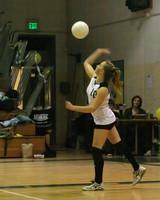 6454 Varsity Volleyball v Orting 102109